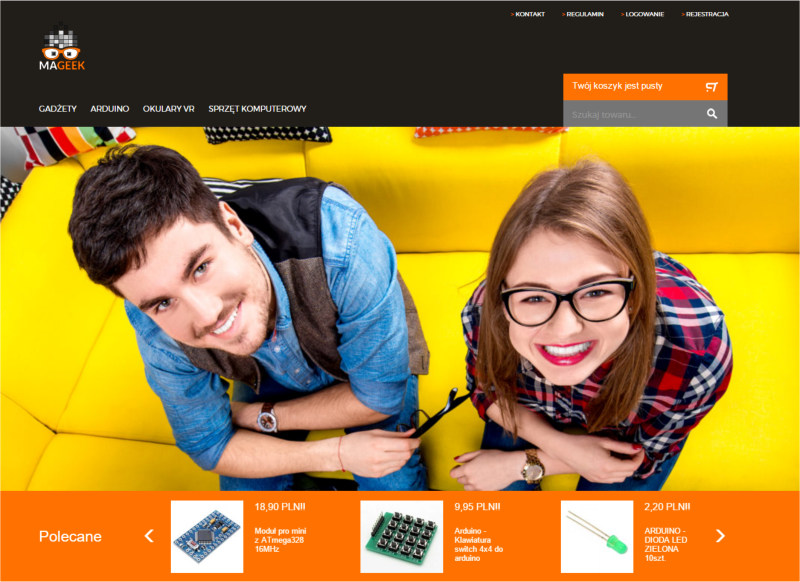Sklep internetowy COMARCH e-SKLEP