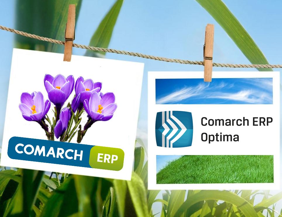 Czas na wiosenne porządki z nową wersją programu do firmy COMARCH ERP OPTIMA 2016.3.1