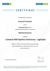 Profesjonalista COMARCH ERP OPTIMA LOGISTYKA