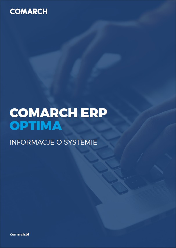 Folder Comarch ERP Optima Opis systemu