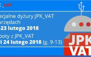 Dyżury JPK_VAT w Urzędzie Skarbowym