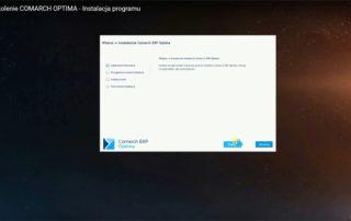 Szkolenie COMARCH OPTIMA - Instalacja Programu