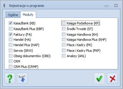 Optima wybór modułów aktywacja pełnej wersji