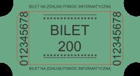 wsparcie informatyczne bilet 200zł