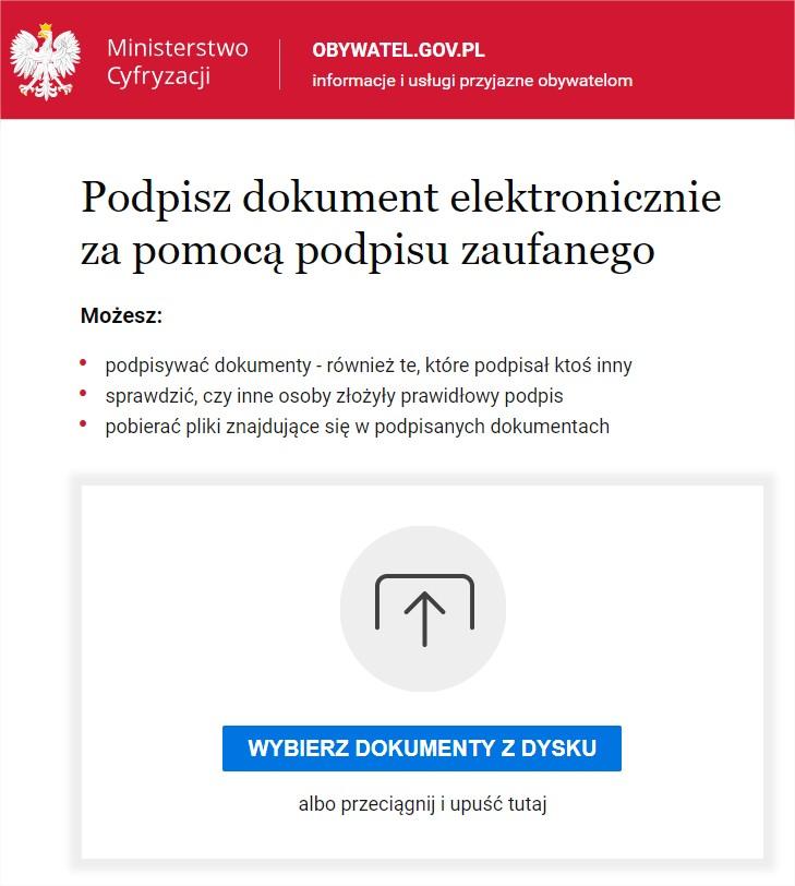 Podpisywanie Dokumentu Podpisem Elektronicznym