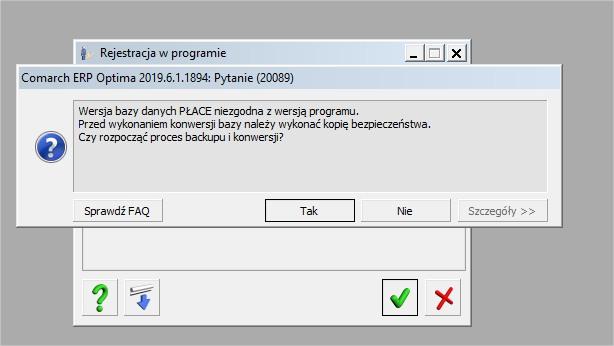 Aktualizacja COMARCH ERP OPTIMA konwersja bazy