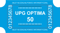 Bilet aktualizacja OPTIMA