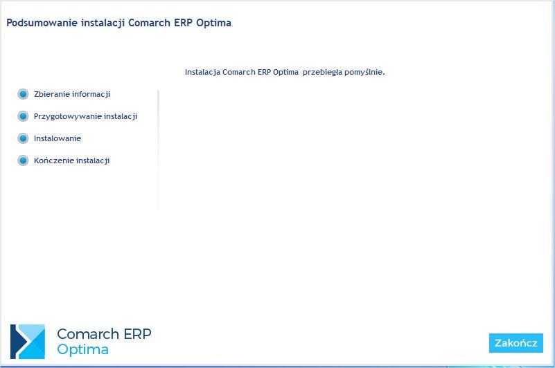 Poprawna aktualizacja COMARCH ERP OPTIMA