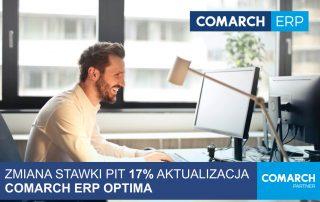 Zmiana stawki PIT aktualizacja OPTIMA