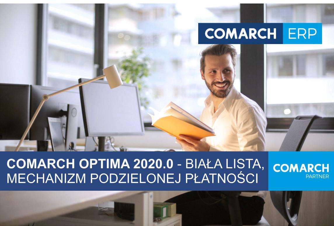 Optima 2020 mechanizm podzielonej płatności biała lista OPTIMA 2020