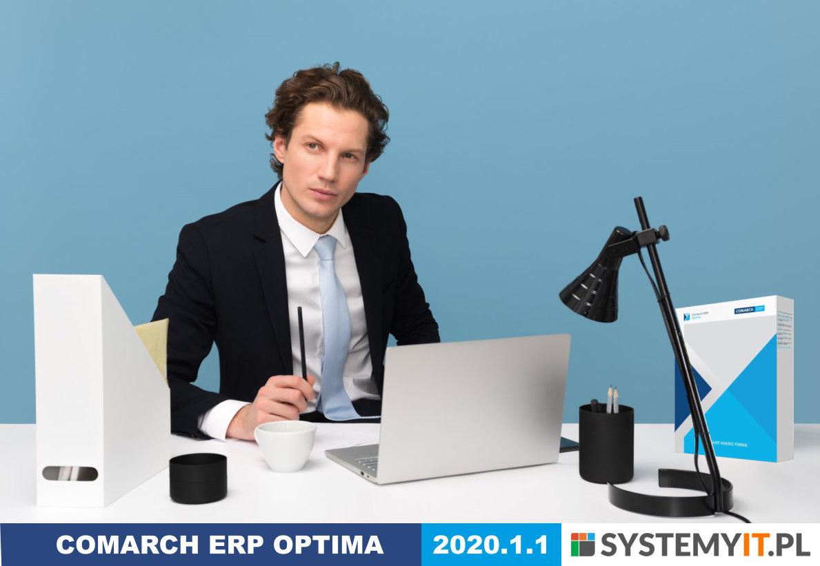 COMARCH ERP Optima 2020.1.1 najnowsza wersja