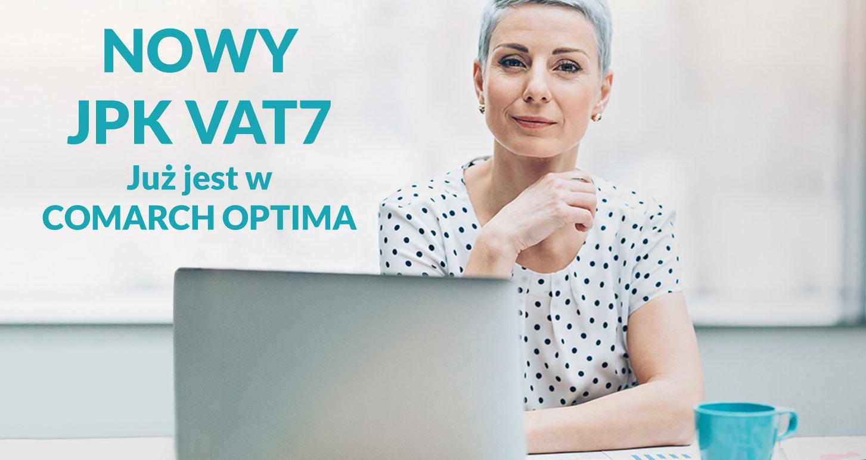 COMARCH OPTIMA 2020.4.1 nowy plik JPK_VAT