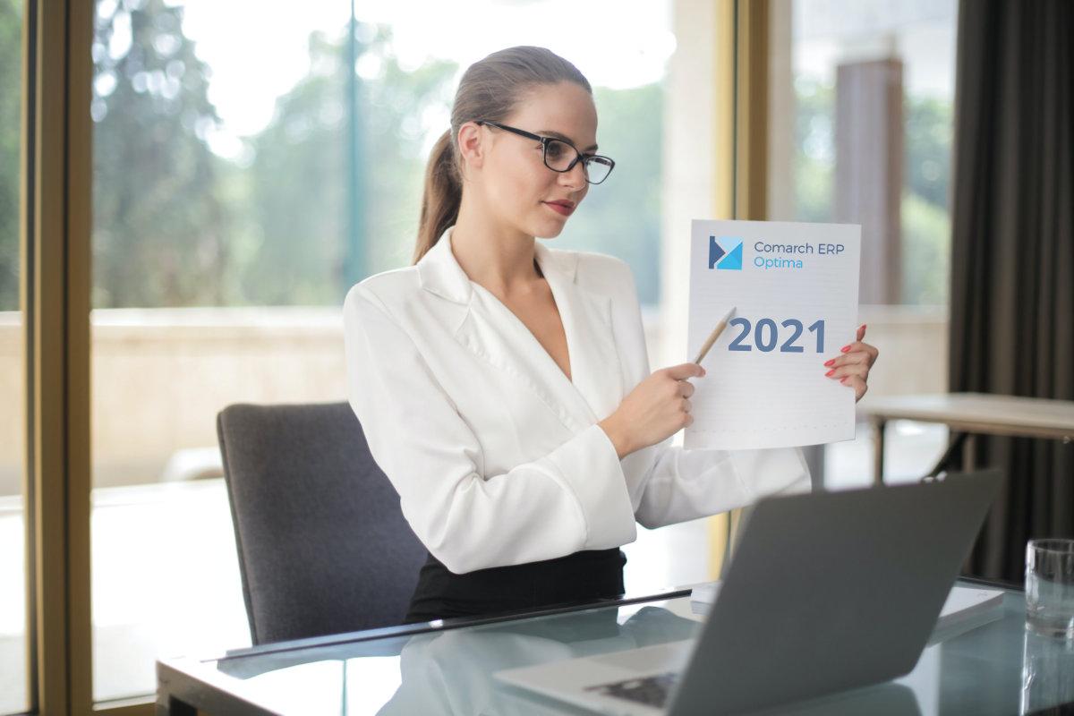 COMARCH ERP OPTIMA 2021 NAJNOWSZA WERSJA